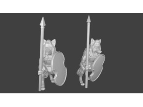Foxmen: Foxmen Warrior Miniatures Persian Style versions