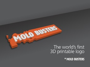 Mold Busters - 3D Printable Logo