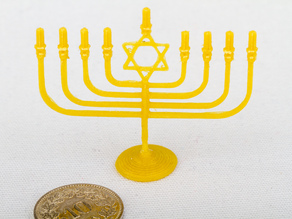 Menorah Model of religious Artifact