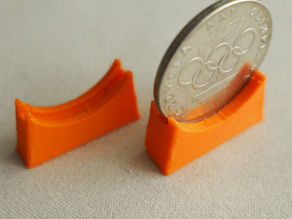 Coin stand for 30 mm coins