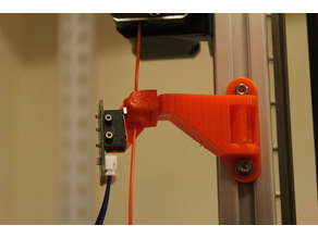 Filament run out sensor holder