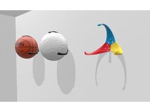 Wall Ball Holder