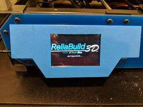 3129 - ReliaBuild 3D - 3.5 Inch Touchsreen (Astroprint - AstroBox) Housing for RB3 and RBB3