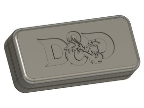 Simple D&D Dice Case w/ Logo