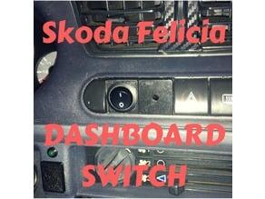 Skoda Felicia dashboard switch / LED