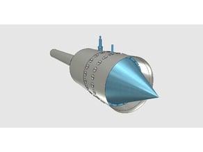 Pulse jet with experimental tesla valve