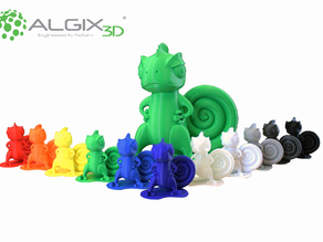Chameleon mascot for Algix 3D
