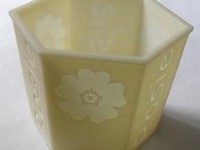 Rosie Flower Pot