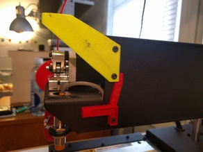 Printrbot Simple Metal - 2nd blower fan mount (when using thing:1655033)