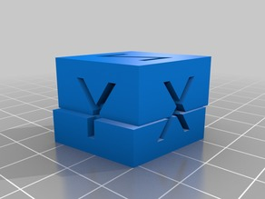 FAKE Calibration cube PRANK