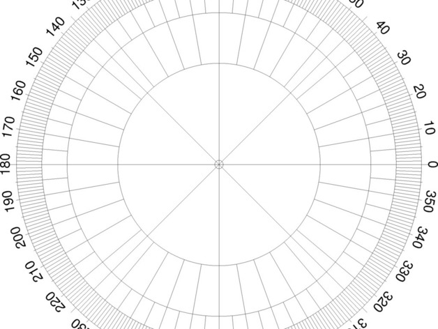 Protractor template to print choice image template for Circular protractor template