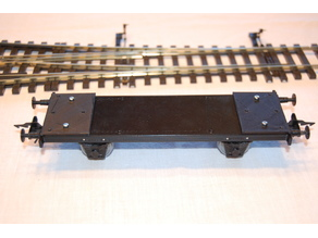 Basic 0-scale Project: Freight Car 2-axle Chassie