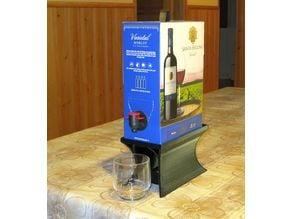 Wine box stand