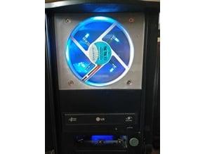 """3x 5.25"""" Bay to 120mm PC Fan mount"""