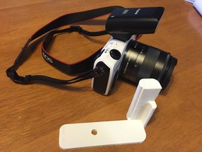 EOS M L shaped Release Plate Handle Grip