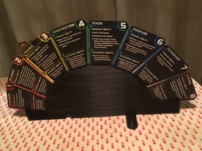 Twilight Imperium (4th edition) Strategy Cards stand