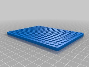 Lego (Compatible) 12 x 16 Base Plate