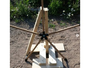 Clay Texas Star Rotating Axis Joint