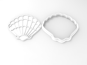 Shell-shaped Cookie Cutters