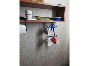 kitchen cup holder