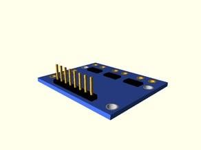 INA 3221 board