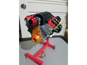 1/10 Scale Camaro LS3 motor. Working model