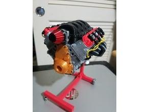 1/10 Scale Camaro LS3 motor. Working model