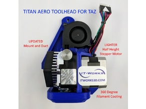 "E3D Titan Aero ""Mirror"" Toolhead for LulzBot Taz"
