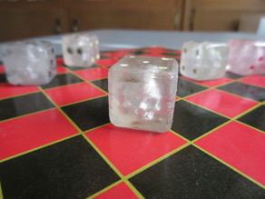 Embedded Skull Dice for Transparent 3D Printing