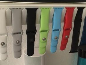 Apple watch band holder