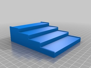 My Customized customisable stairs/display rack