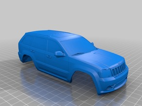 Jeep SRT8 for openZ V16 with 102mm wheelbase.