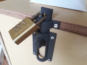 LOCK for door or boxes with PADLOCK