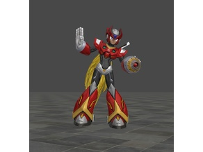 Megaman Zero with and without canon