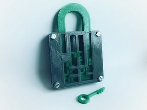 Puzzle Lock // Sliding Puzzle