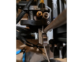 Ender 3 608zz Bearing Based Filament Guide