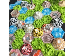 Dome Cities for Terraforming Mars game
