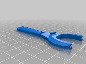 Dental floss holder