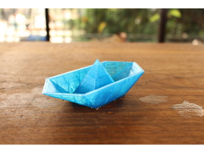Barco de papel 1 Paper boat