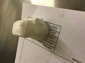 Hippo Head Fridge Magnet