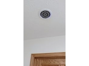 In-Ceiling Speaker Enclosure for Recessed Lighting Fixture