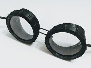 Simple Goggles With Screw On Caps