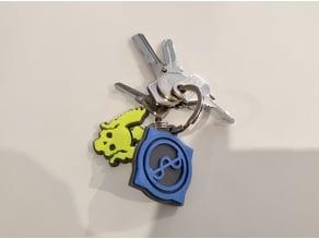 Q3A Impressive Keychain