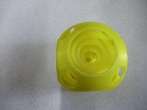 Five concentric balls