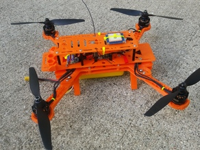 Modified Hovership MHQ2 for 7in props (338mm)
