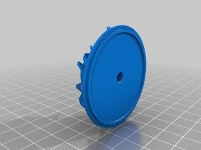 Impeller - rotor for Dyson turbine head