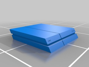 PS4 to scale model