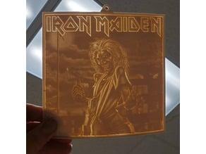 Iron Maiden Lithophane - Killers Album
