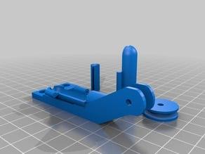 Ender 3 PRO filament guide and cleaner edit V2