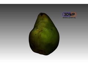 Pear (Color 3D Scan)